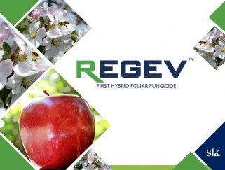 REGEV™ Este fungicida híbrido está disponible en Serbia para tratar la sarna del manzano