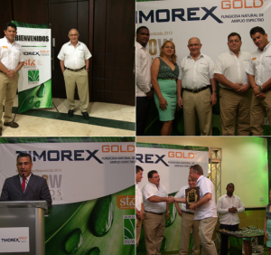 Dominican Rep.: Agricultural sector celebrates award for Timorex Gold