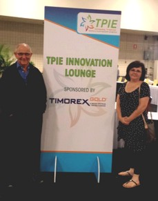 The Stockton Group Showcased the Benefits of Timorex Gold at the TPIE 2015