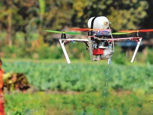 Use of drones in aerial spraying proposed